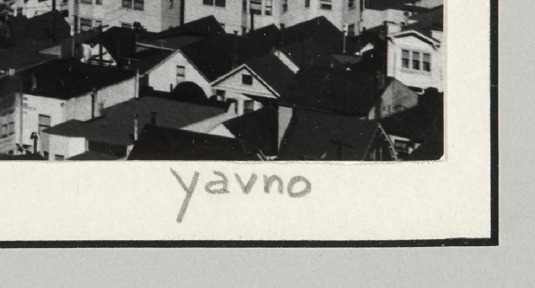 "Five Max Yavno photographs plus ""The San Francisco - 7"