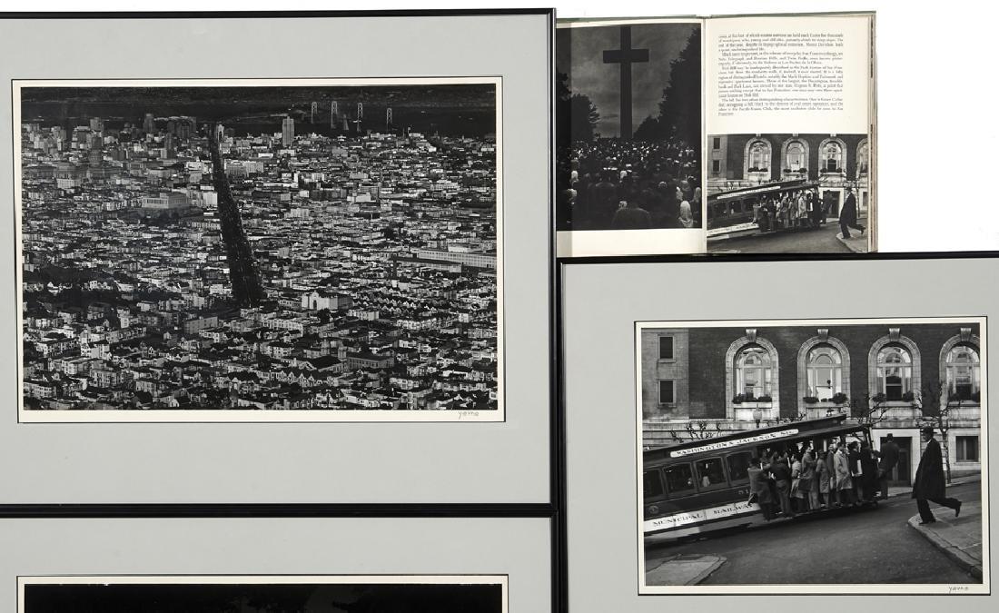 "Five Max Yavno photographs plus ""The San Francisco - 8"