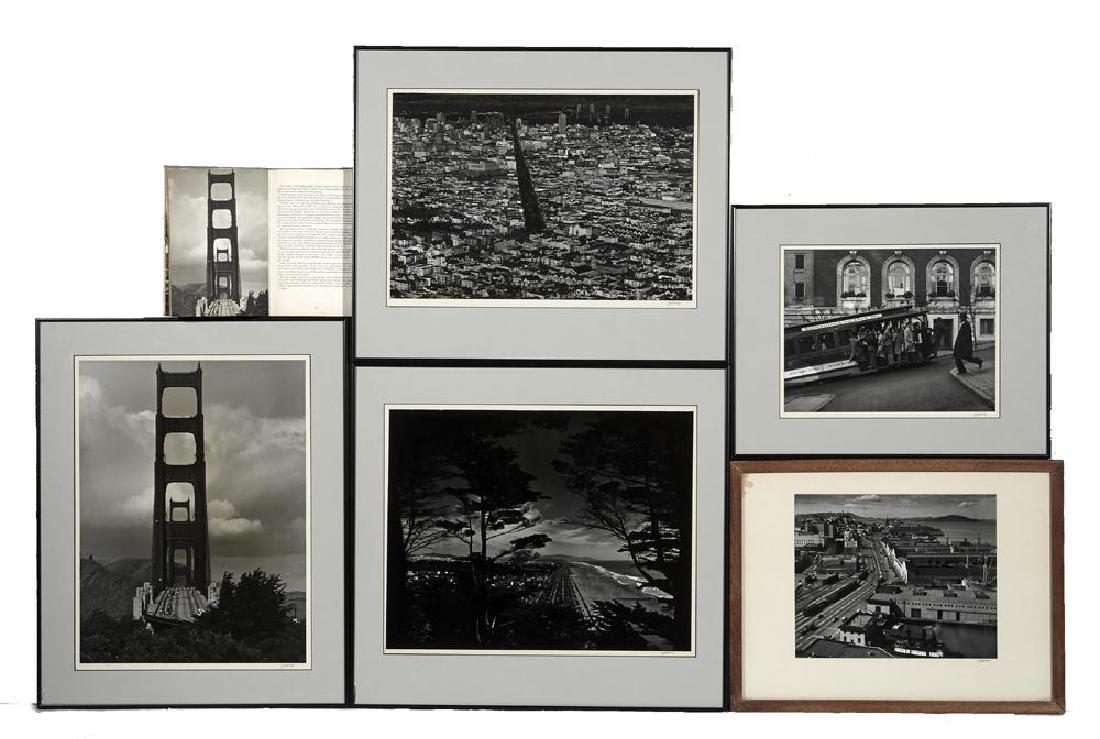 "Five Max Yavno photographs plus ""The San Francisco - 9"
