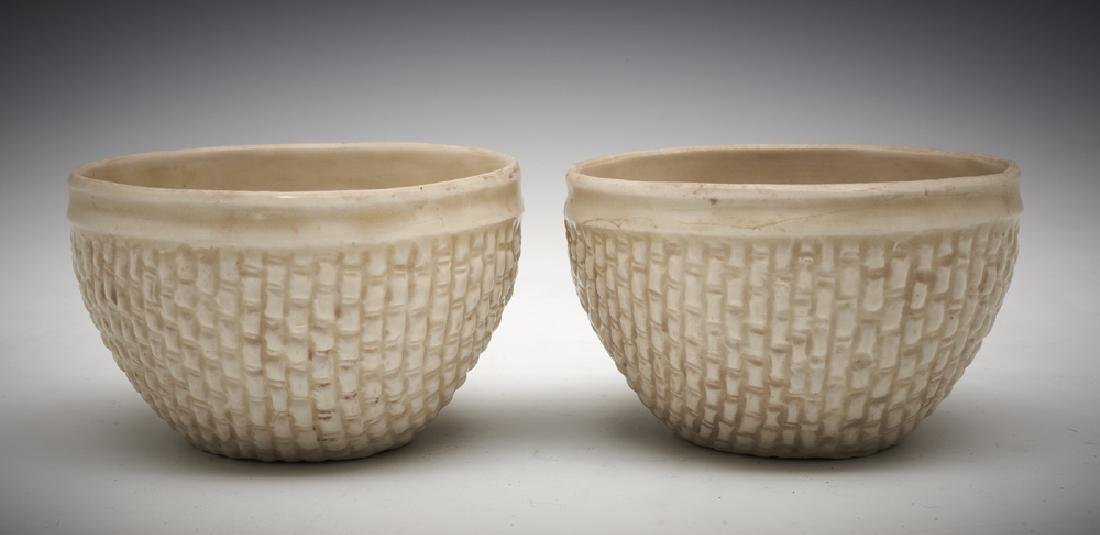 Pair Ding Basket Weaved Cups