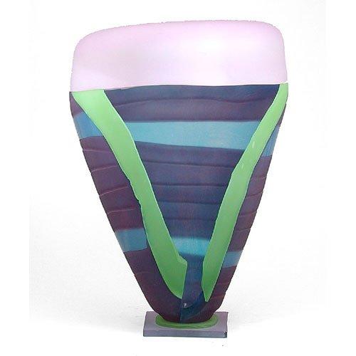 606: Danny Perkins Glass Sculpture.
