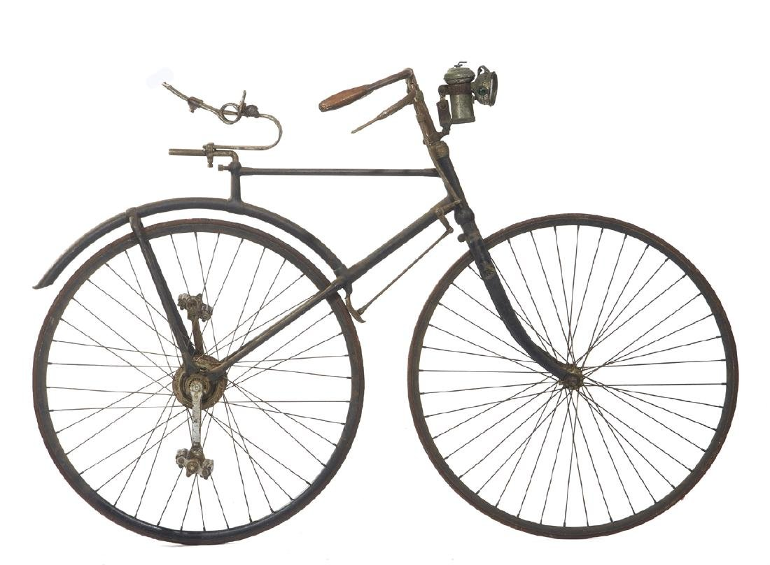 Rare Bronco Bicycle, White Cycle Co, 1890/92 - 5