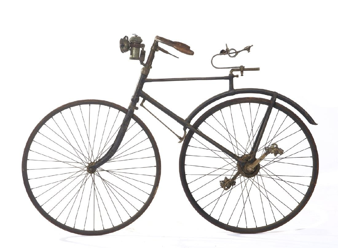 Rare Bronco Bicycle, White Cycle Co, 1890/92 - 6
