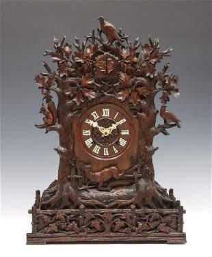 Theodore Ketterer black forest cuckoo clock