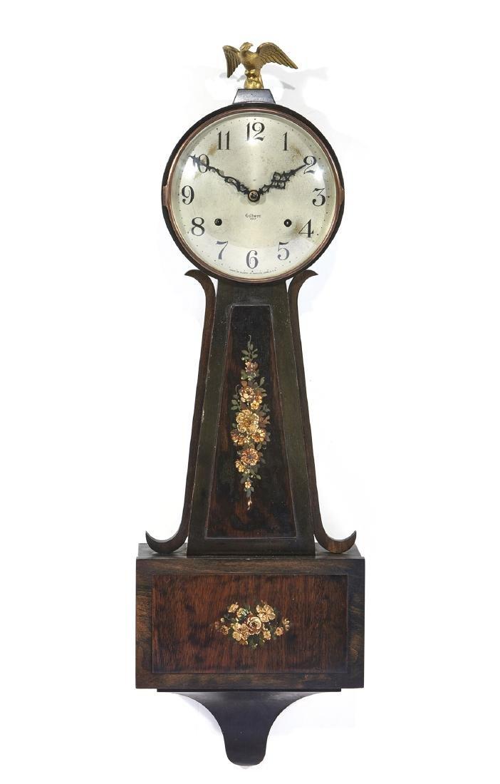 """Gilbert """"1807"""" banjo clock"""