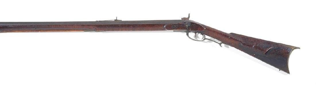 "Kentucky long rifle, 61"", tiger maple stock - 2"