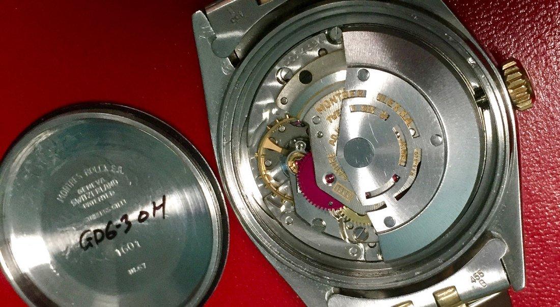 Rolex Oyster Perpetual Datejust men's watch, 18k - 2