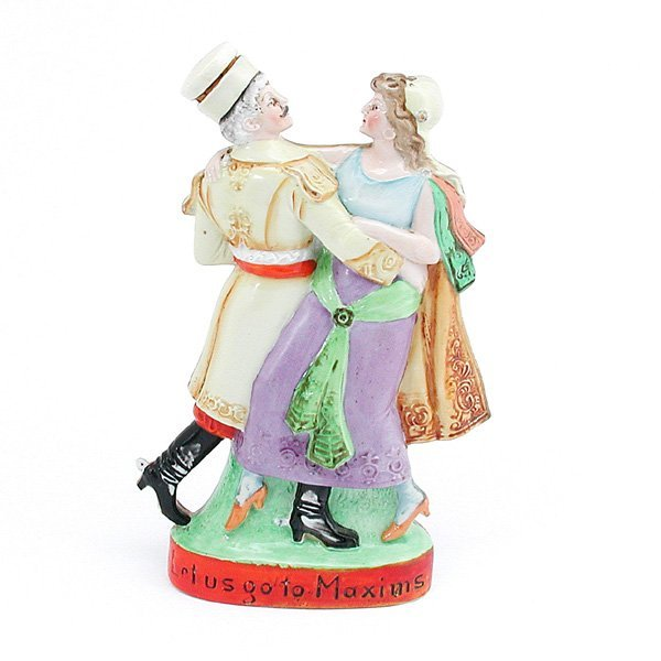 2: Flask, Souvenir Of Broadway Opening Night, 1907