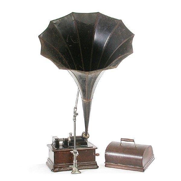9: Thomas Edison Cylinder Victrola