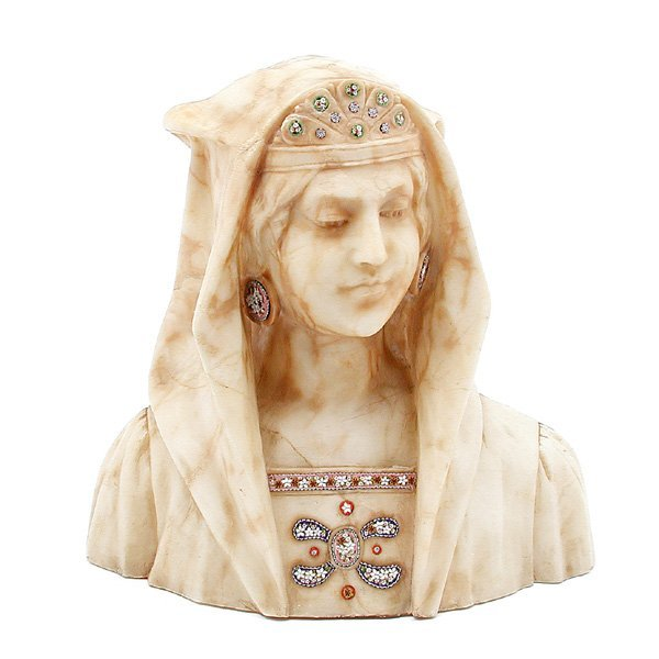 11: Alabaster Bust Of A Woman