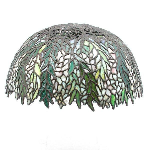 21: Tiffany Style Glass Shade