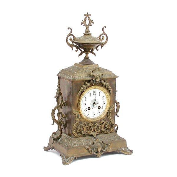 22: Brass Mantle Clock