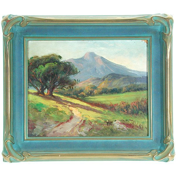 358: A.M.Muller, California Painting
