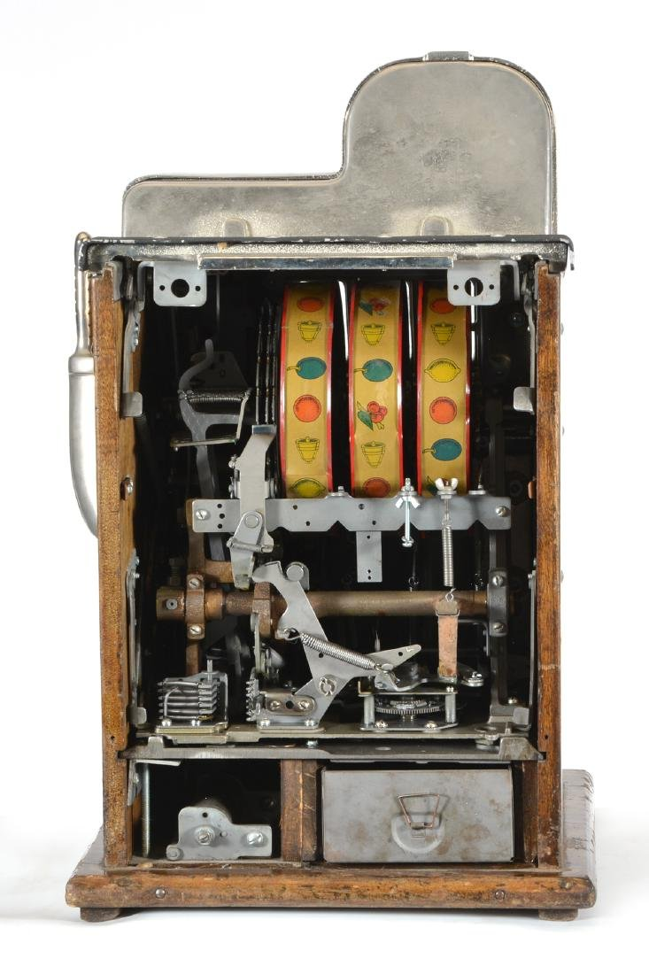 Antique 25 Cent Mills Diamond Front Slot Machine - 3