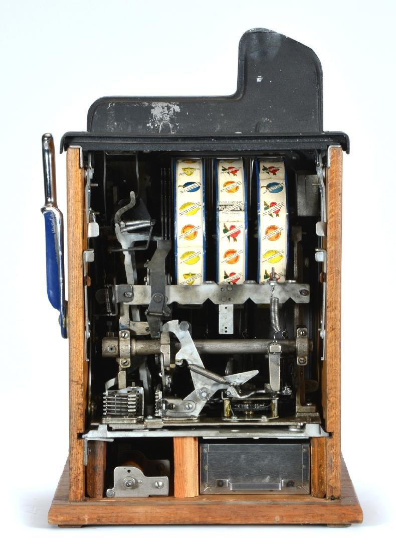 Antique 5 Cent Mills Castle Front Slot Machine - 3