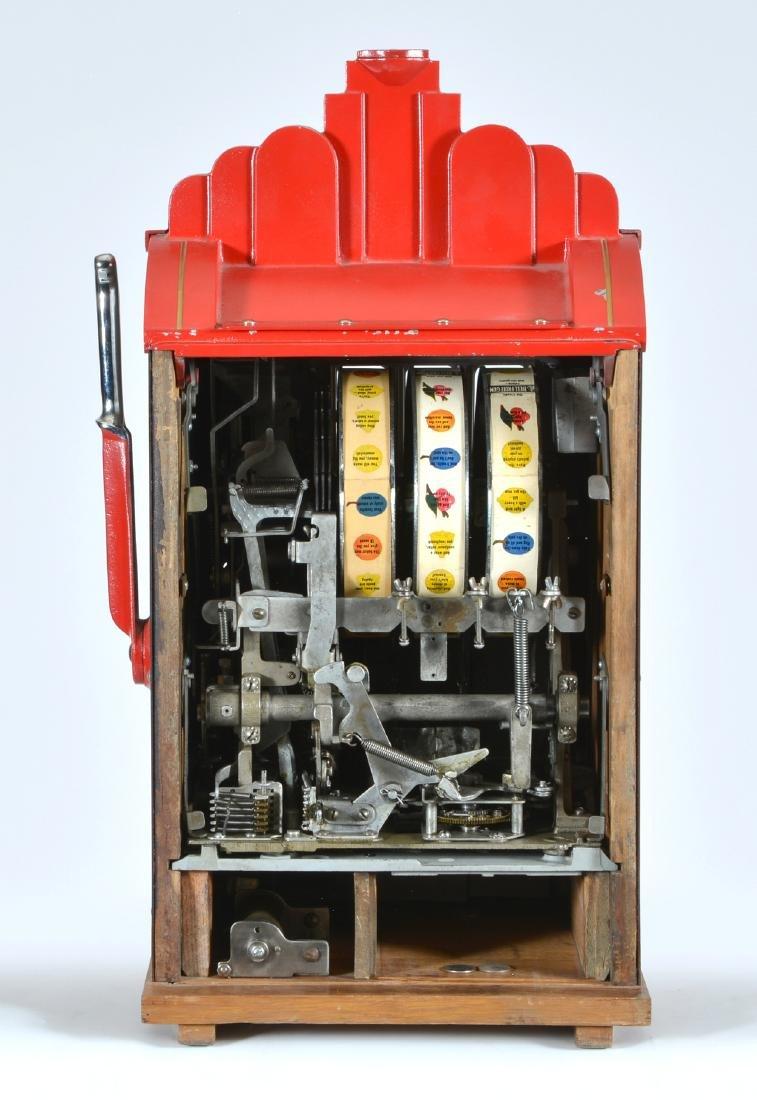 Antique 25 Cent Mills Extraordinary Slot Machine - 3