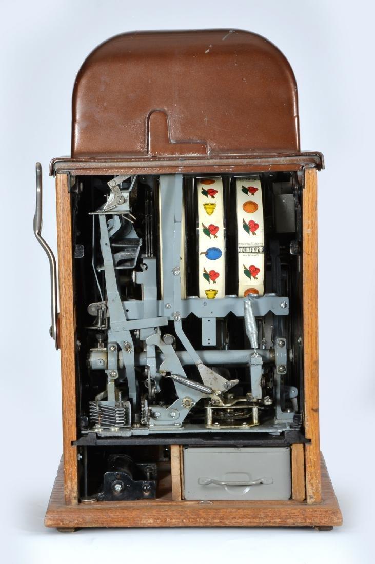 Rare Antique 25 Cent Mills Futurity Slot Machine - 3