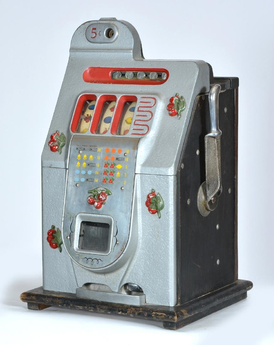 Antique Mills 5 Cent Cherry Slot Machine