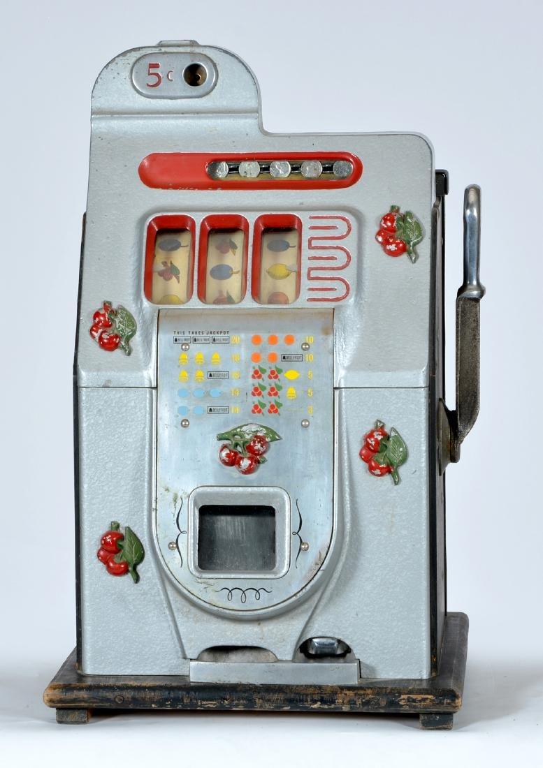 Antique Mills 5 Cent Cherry Slot Machine - 2