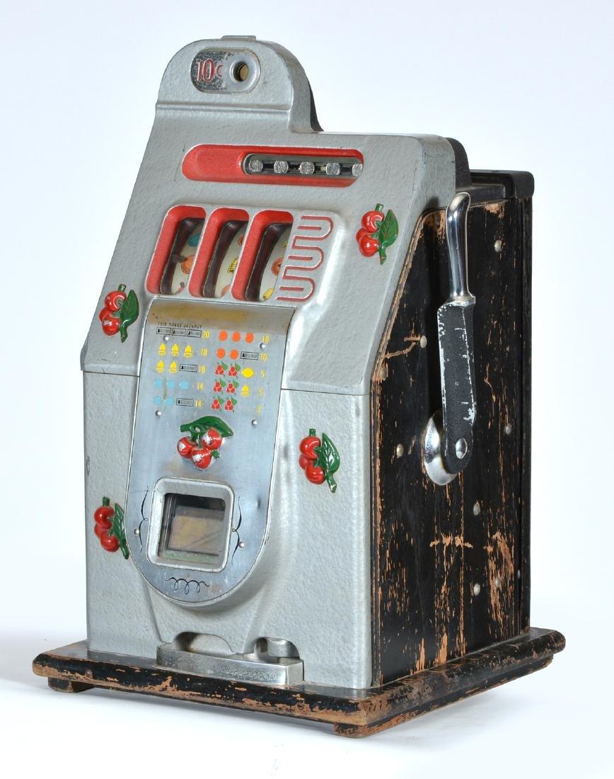 Antique Mills 10 Cent Cherry Slot Machine