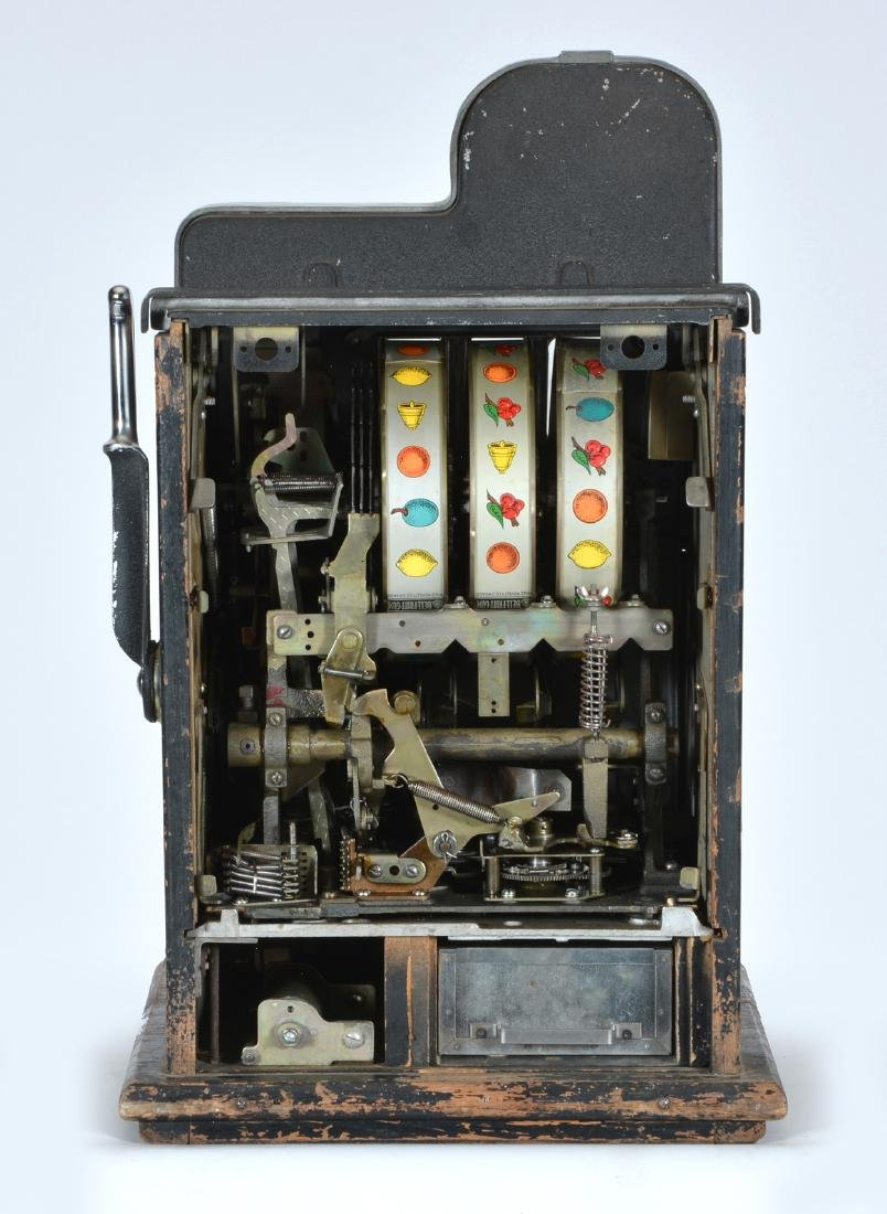 Antique Mills 10 Cent Cherry Slot Machine - 3