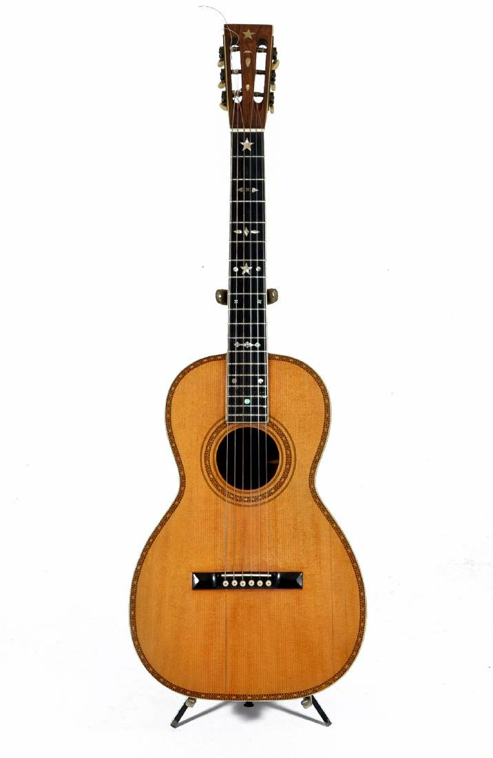 19th C Bay State Style 209 acoustic 6 string guitar