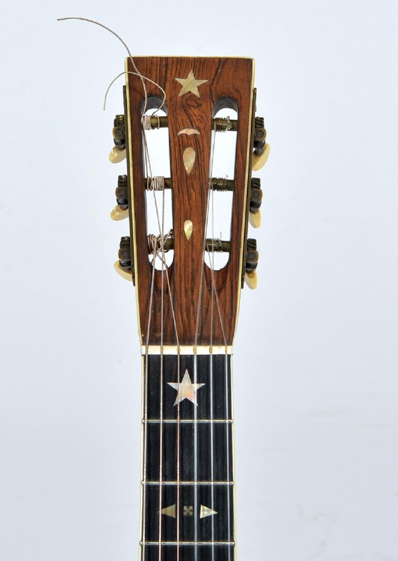 19th C Bay State Style 209 acoustic 6 string guitar - 3