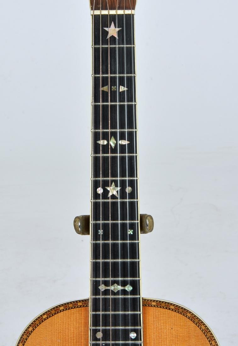 19th C Bay State Style 209 acoustic 6 string guitar - 4