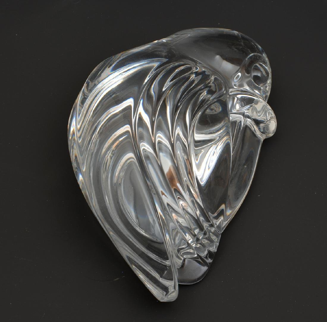 Five Steuben crystal animals - 2