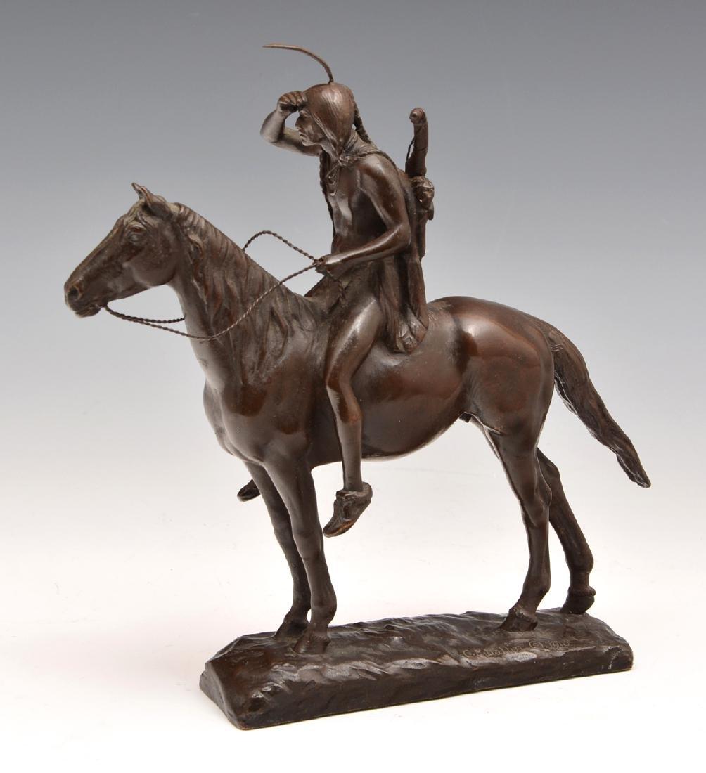 Cyrus Edwin Dallin (1861-1944), The Scout, Bronze