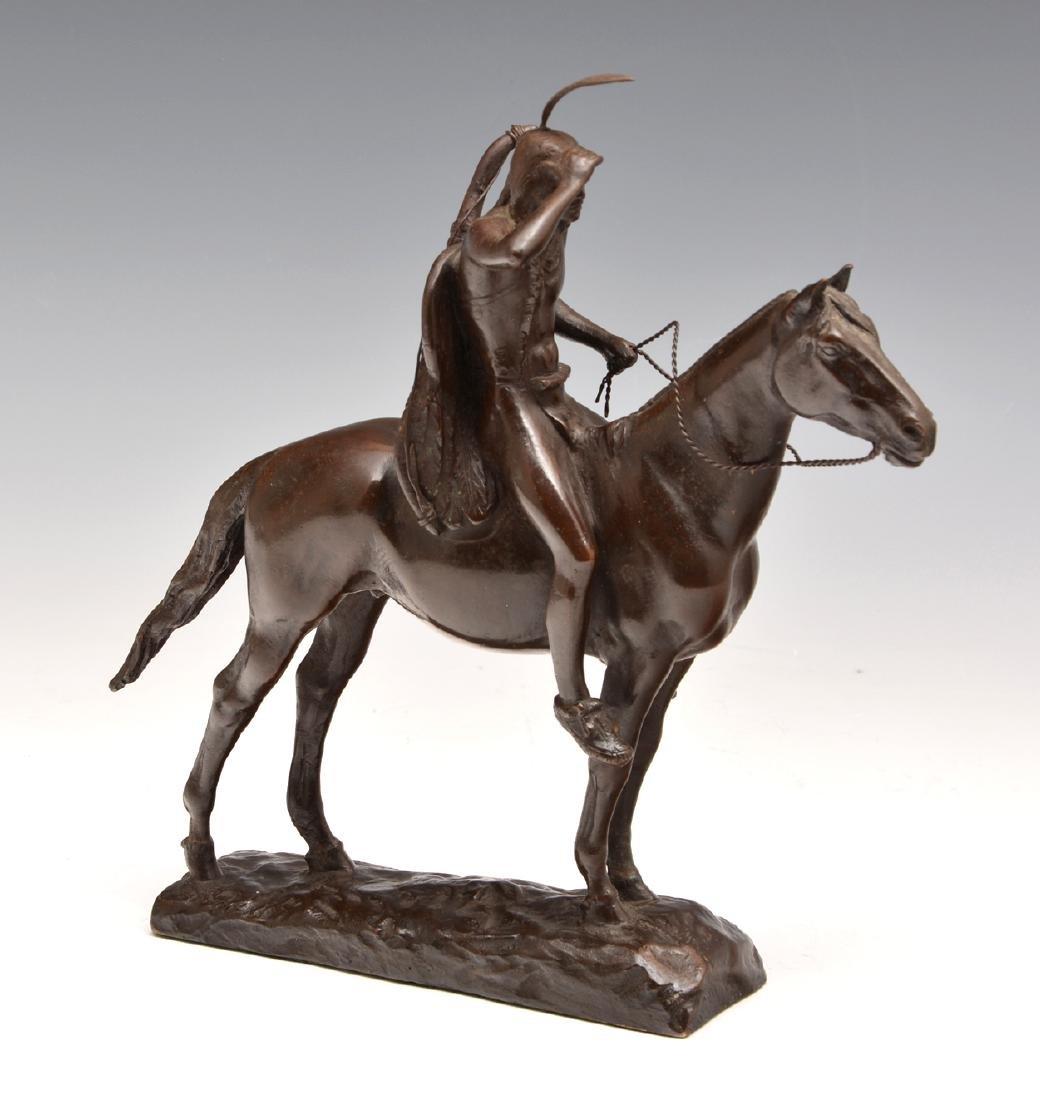Cyrus Edwin Dallin (1861-1944), The Scout, Bronze - 2