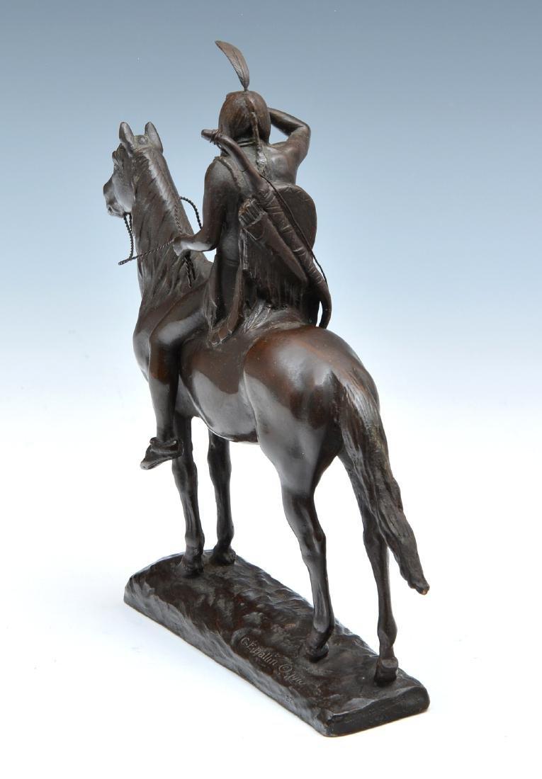 Cyrus Edwin Dallin (1861-1944), The Scout, Bronze - 4