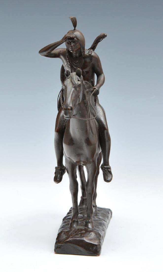 Cyrus Edwin Dallin (1861-1944), The Scout, Bronze - 5