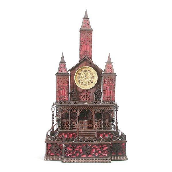 1: Seth Thomas Jigsaw Building Clock