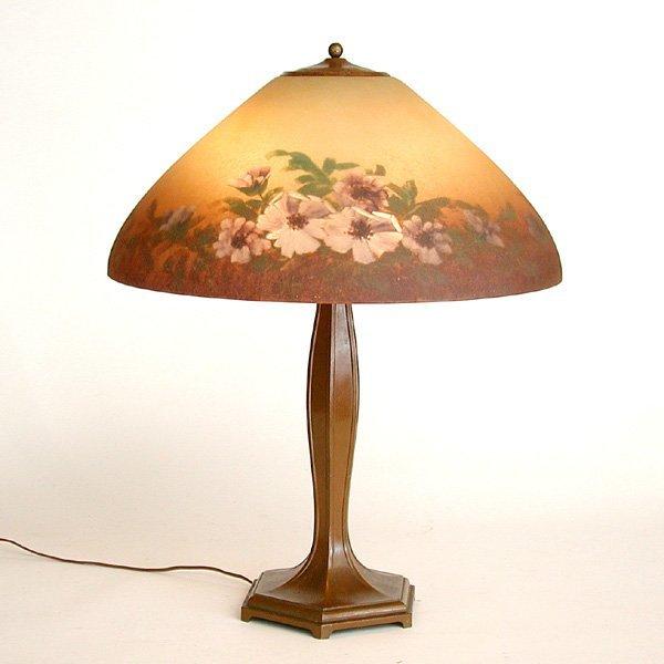 10: Jefferson Reverse Painted Lamp