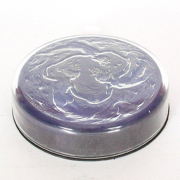19: Sabino Glass Bonbon Dish, Mermaids