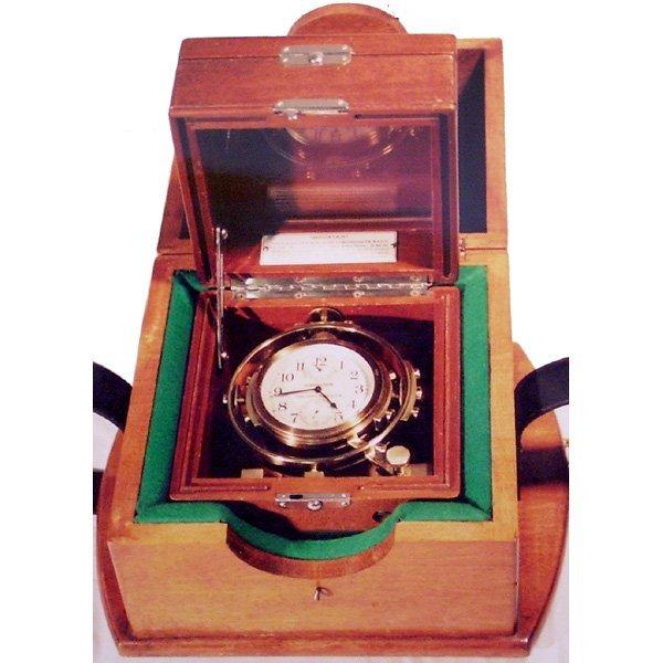 2: Hamilton Chronometer Deck Watch, Running