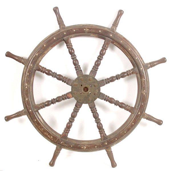 22: Wooden Ships Wheel