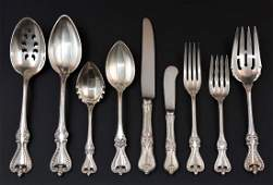 Towle Old Colonial Sterling Silver Flatware Set