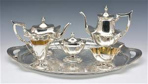 Gorham Sterling Coffee & Tea Set, appx. 68.2 weighable