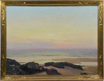 """Frederick Judd Waugh (Am 1861-1940), """"On the Gloaming"""""""