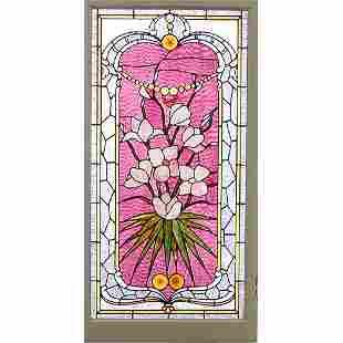 Stained /Jeweled Glass Window