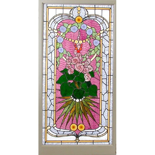 4: Stained/Jeweled Glass Window