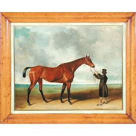 516: Abraham Cooper Horse Painting