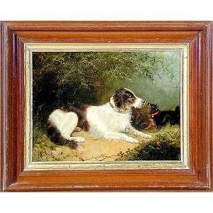 527: Edward Armfield Dog Painting