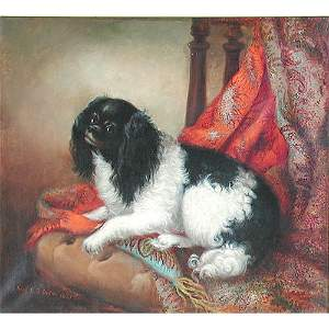 531: Mary Miller Dog Painting