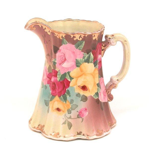 3: Victorian Style Porcelain Pitcher