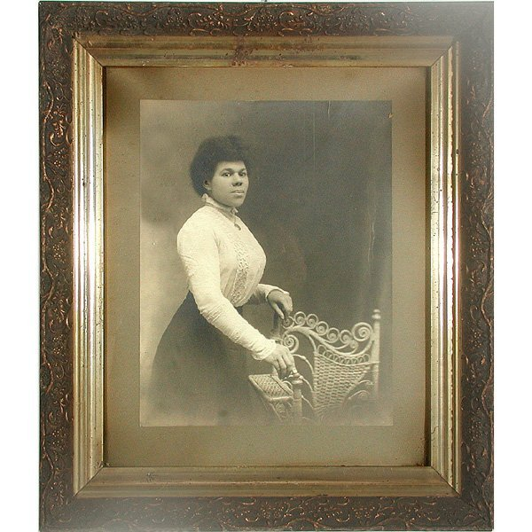 8: Photograph, Black Woman