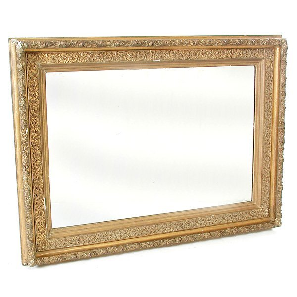13: Large Gilt & Gesso Wall Mirror