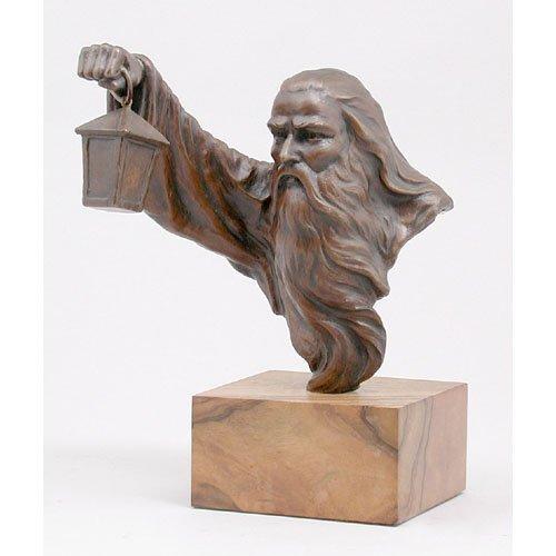 3: Ernest Caballero Bronze Sculpture